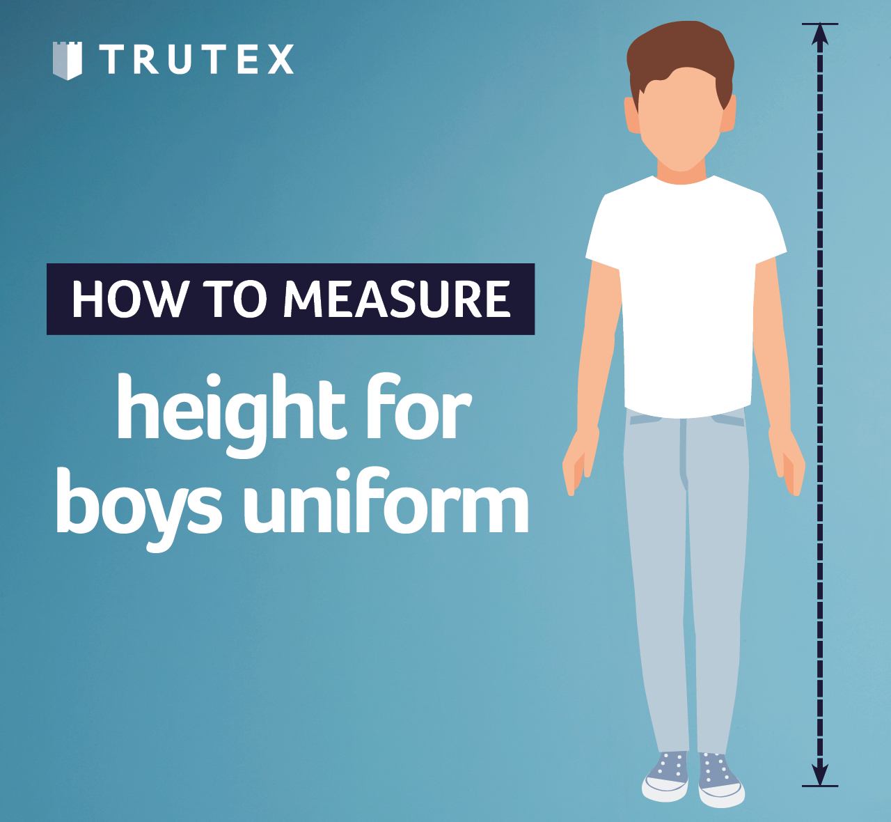 How to measure: height for boys uniform