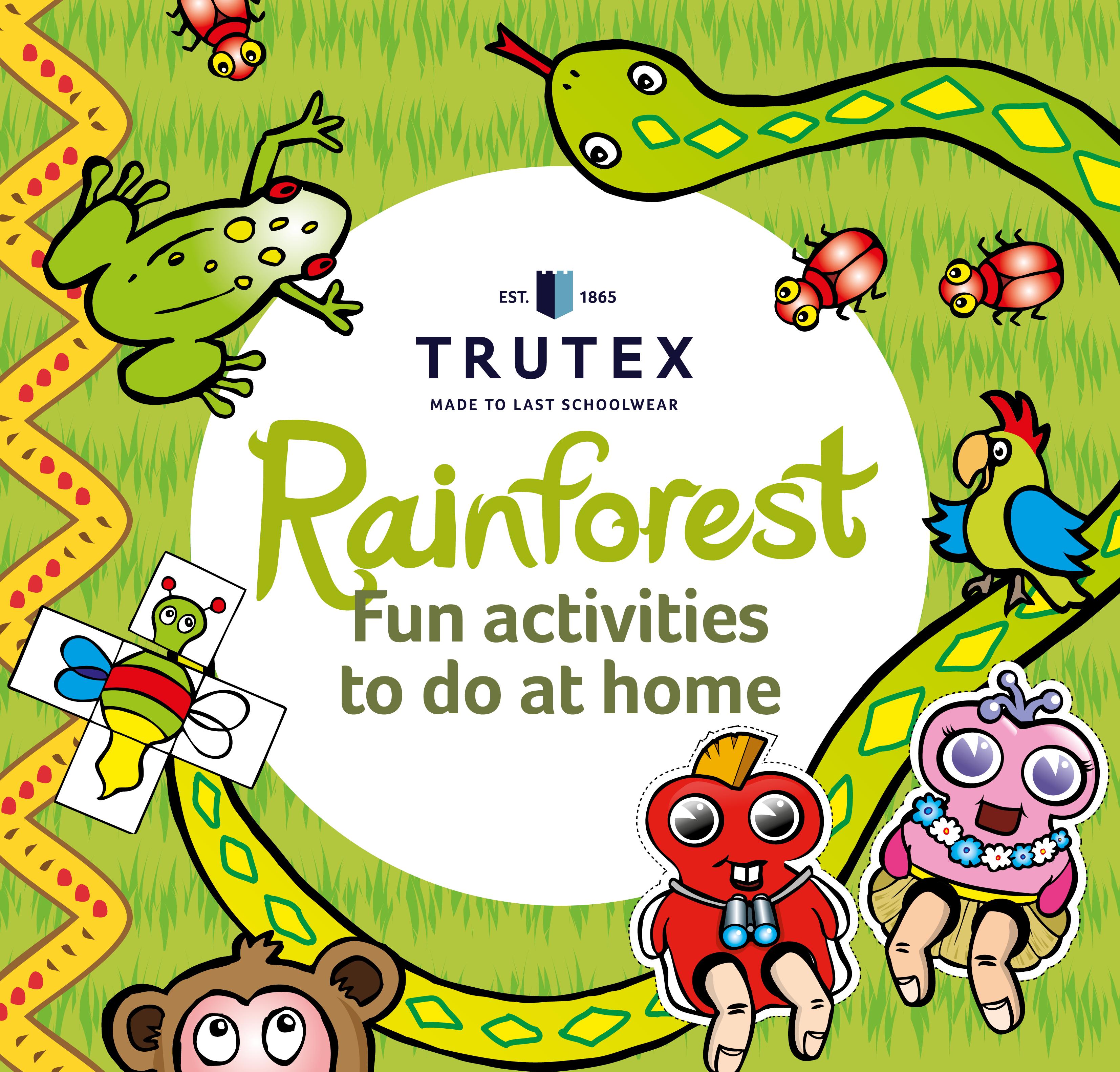 Rainforest Activity Pack