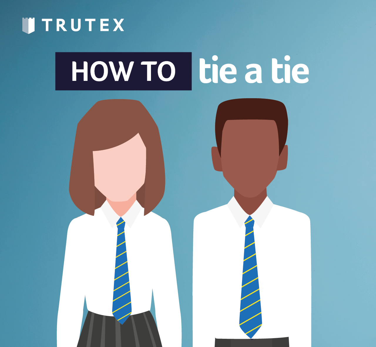 How to: tie a tie