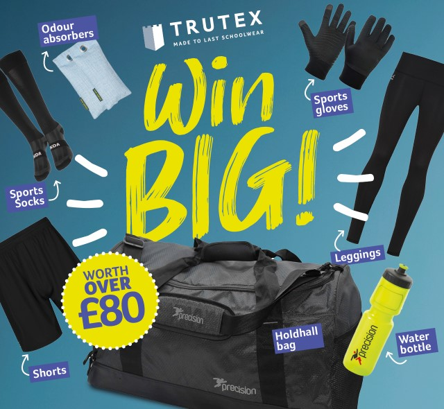 Trutex Competition - Win a Sports Bag!