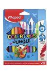 Helix Maped - Color Peps Jungle Colouring Felt Tip Pens